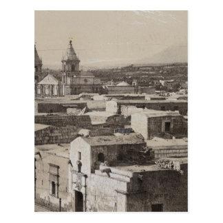 Perú 3 tarjeta postal
