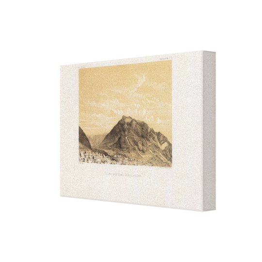 Perú 6 impresión en lienzo