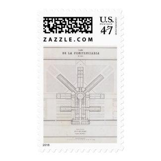 Perú 8 timbre postal