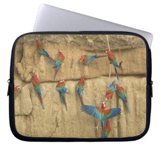 Peru, Amazon River Basin, Madre de Dios Laptop Sleeves