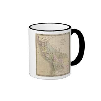 Peru and Bolivia 3 Coffee Mugs