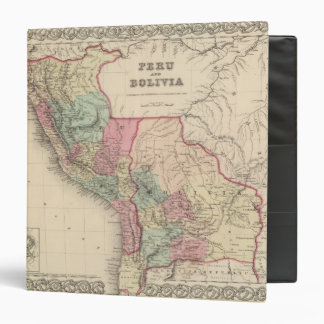 Peru and Bolivia 4 3 Ring Binders