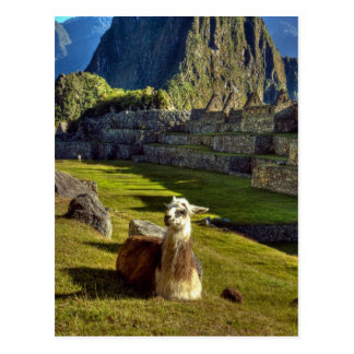 Peru, Andes, Andes Mountains, Machu Picchu, 2 Postcard