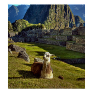 Peru, Andes, Andes Mountains, Machu Picchu, 2 Poster