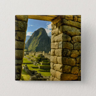 Peru, Andes, Andes Mountains, Machu Picchu, Button