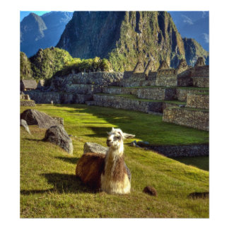 Peru, Andes, Andes Mountains, Machu Picchu, Photo Print
