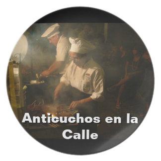 Peru - Anticucheria en la Calle Party Plates