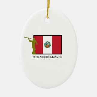 PERU AREQUIPA MISSION LDS CTR CERAMIC ORNAMENT