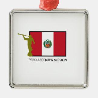PERU AREQUIPA MISSION LDS CTR METAL ORNAMENT