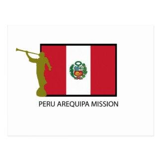 PERU AREQUIPA MISSION LDS CTR POSTCARD