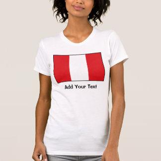 Perú - bandera peruana camiseta