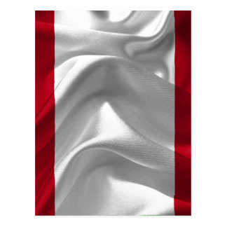 Perú-Bandera Tarjetas Postales