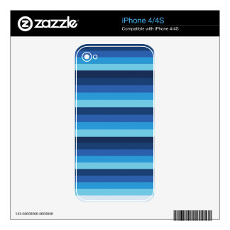 peru blue decals for the iPhone 4S