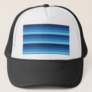 peru blue trucker hat