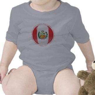 Peru Bubble Flag T Shirts