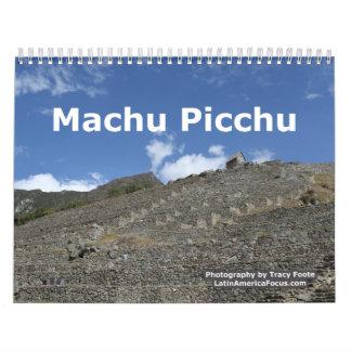 Peru Calendar - Machu Picchu Calendar 2018