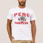 Perú Campeon 2011 - etiqueta InKa1821 Playera