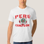 Perú Campeon 2011 - etiqueta InKa1821 Polera