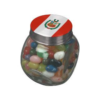Peru Glass Jar
