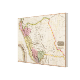 Peru Gallery Wrapped Canvas