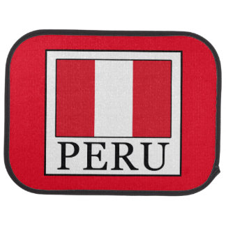 Peru Car Floor Mat