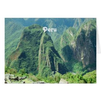 Peru Cards