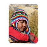 Peru Child - Boy Magnet