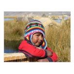 Peru Child - Boy Postcard