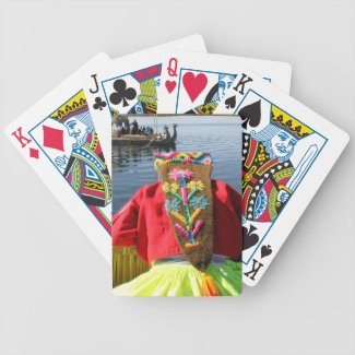 Peru Child - Girl Deck Of Cards