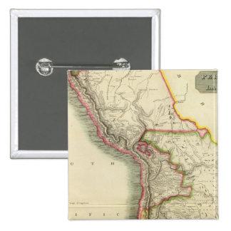 Perú, chile, La Plata 2 Pin