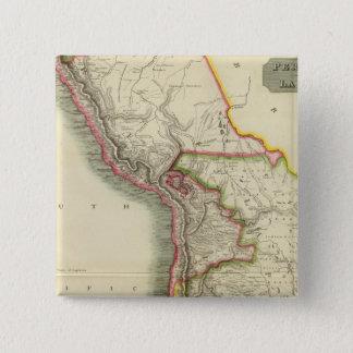 Peru, Chili, La Plata 2 Pinback Button