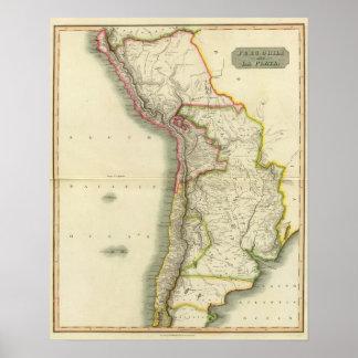 Peru, Chili, La Plata 2 Poster