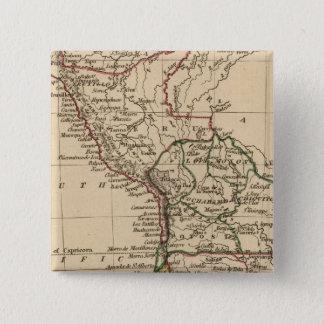 Peru, Chili, La Plata Button