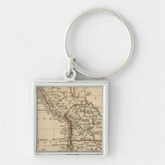 Peru, Chili, La Plata Keychain