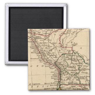 Peru, Chili, La Plata 2 Inch Square Magnet