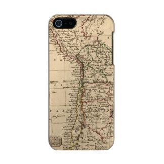 Peru, Chili, La Plata Metallic Phone Case For iPhone SE/5/5s