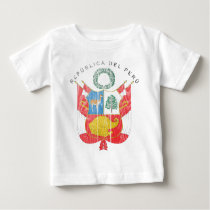 Peru Coat Of Arms Baby T-Shirt