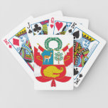 Peru Coat of Arms Bicycle Playing Cards