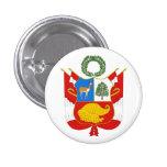 Peru Coat of Arms Button