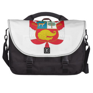 Peru Coat of Arms Commuter Bags