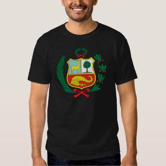 Peru Coat of Arms detail Tee Shirt