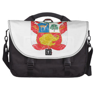 Peru Coat Of Arms Bags For Laptop
