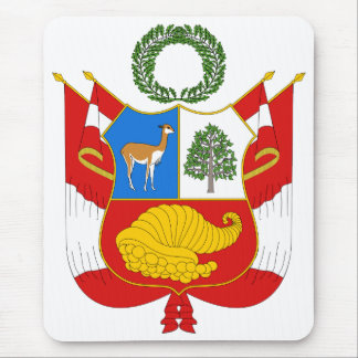 Peru Coat of Arms Mouse Pad