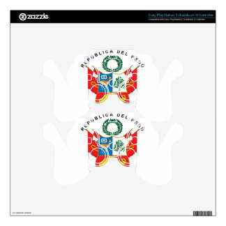 Peru Coat Of Arms PS3 Controller Skins