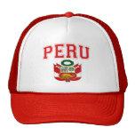 Peru Coat of Arms Trucker Hat