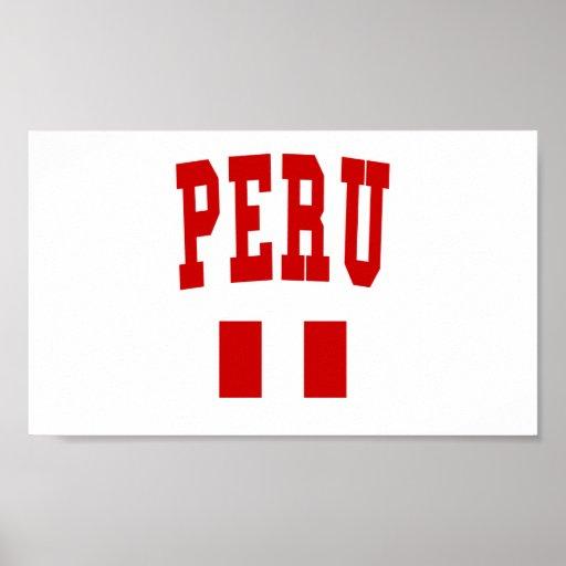 Peru College Style Print