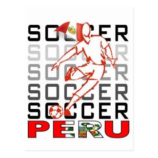 Peru Copa America 2011 Post Card