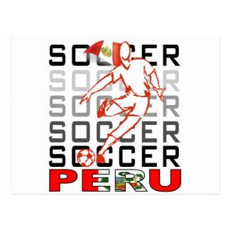 Peru Copa America 2011 Postcard