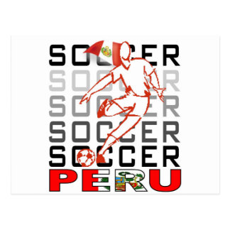 Peru Copa America 2011 Postcards