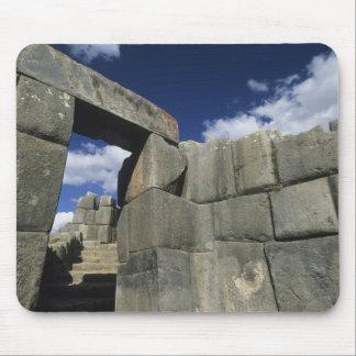 Perú, Cuzco, fortaleza de Sacsayhuaman, buen ejemp Alfombrillas De Raton